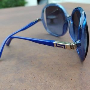 Versace sunglasses discontinued rare blue style